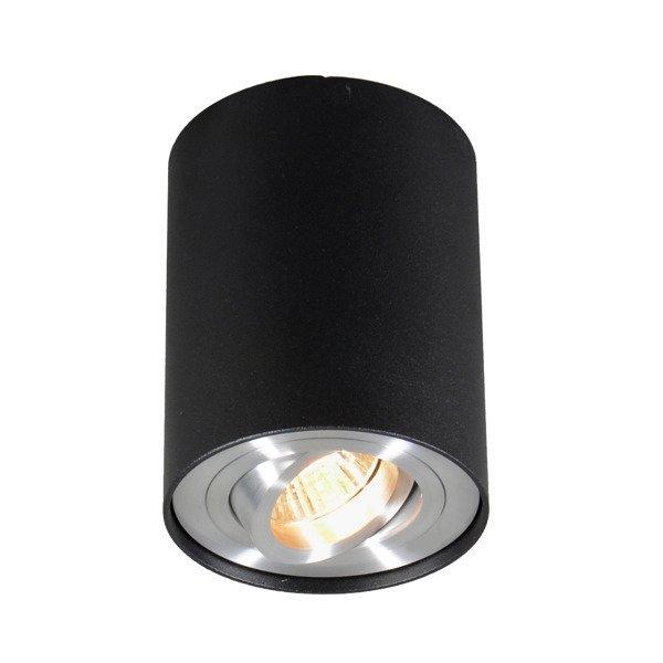 Lampa sufitowa SPOT RONDOO 89201 Czarny Zuma Line
