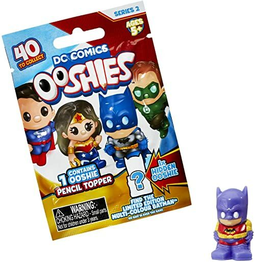 Ooshies 76607.0039 Batman DC Comics figurka kolekcjonerska, kolorowa