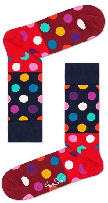 Skarpetki Wysokie Happy Socks Groszki BDB01-4300 (HS3-c)
