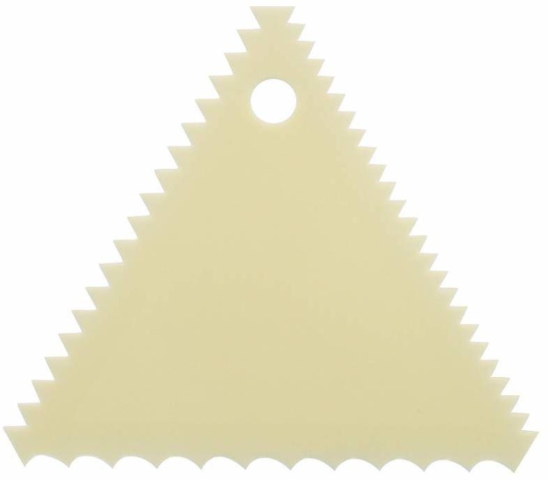 Skrobka ząbkowana trójkątna