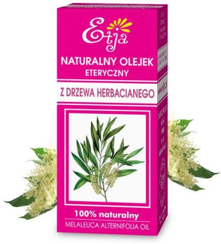 Naturalny olejek eteryczny z Drzewa Herbacianego (Tea Tree) 10 ml (Etja)