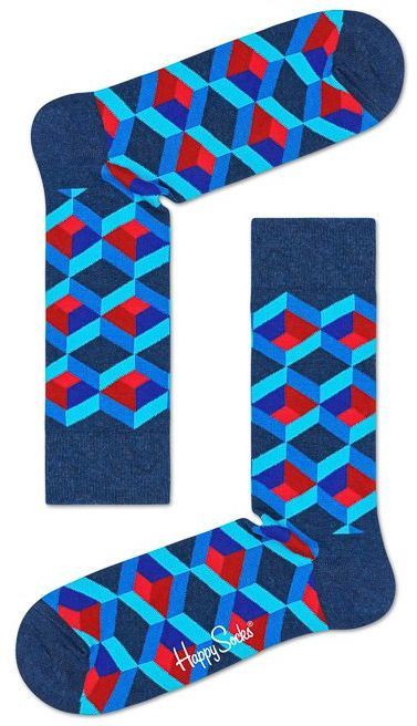 Skarpetki Happy Socks Mozaika OSQ01- 6300 (HS4-a)