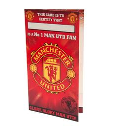 Manchester United - kartka urodzinowa