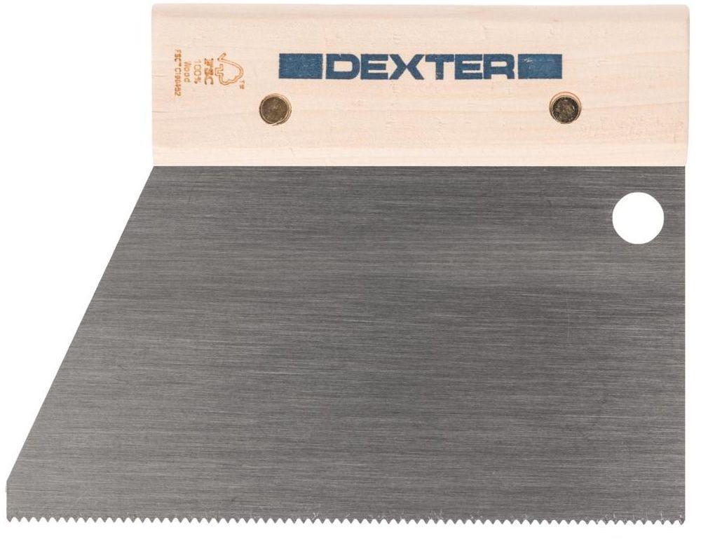 Grzebień do kleju 18 cm / 2.5 mm DEXTER