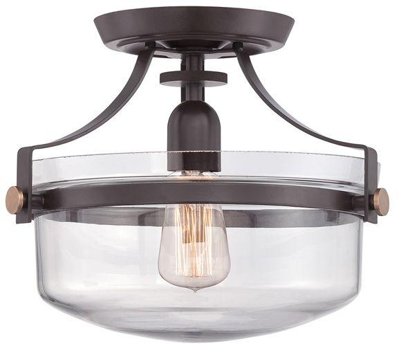 Lampa sufitowa PENN STATION QZ/PENNSTAT/F WT - Elstead Lighting  SPRAWDŹ RABATY  5-10-15-20 % w koszyku