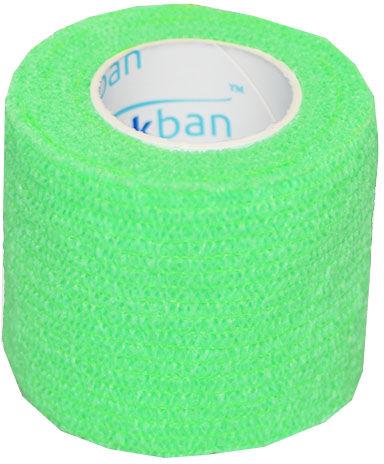 StokBan 5 x 450cm-jasnozielony Bandaż elastyczny samoprzylepny