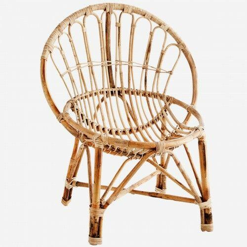 Bambusowy fotel Madam Stoltz