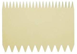 Skrobka ząbkowana 11.6x7.8 cm
