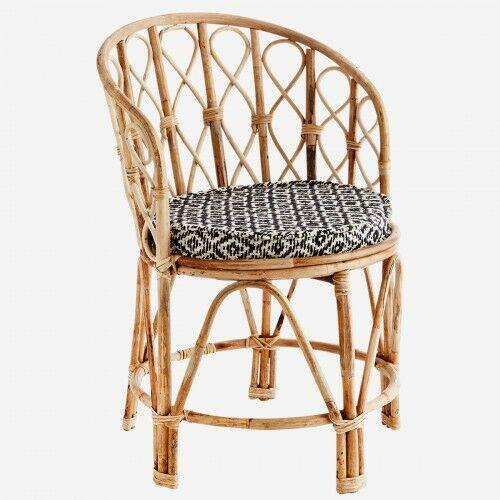 Bambusowe krzesło Madam Stoltz