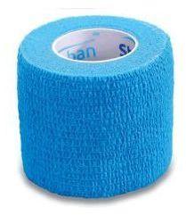 StokBan 5 x 450cm-jasnobłękitny Bandaż elastyczny samoprzylepny