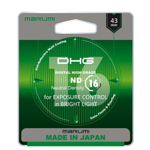MARUMI DHG ND16 Filtr fotograficzny szary 43mm