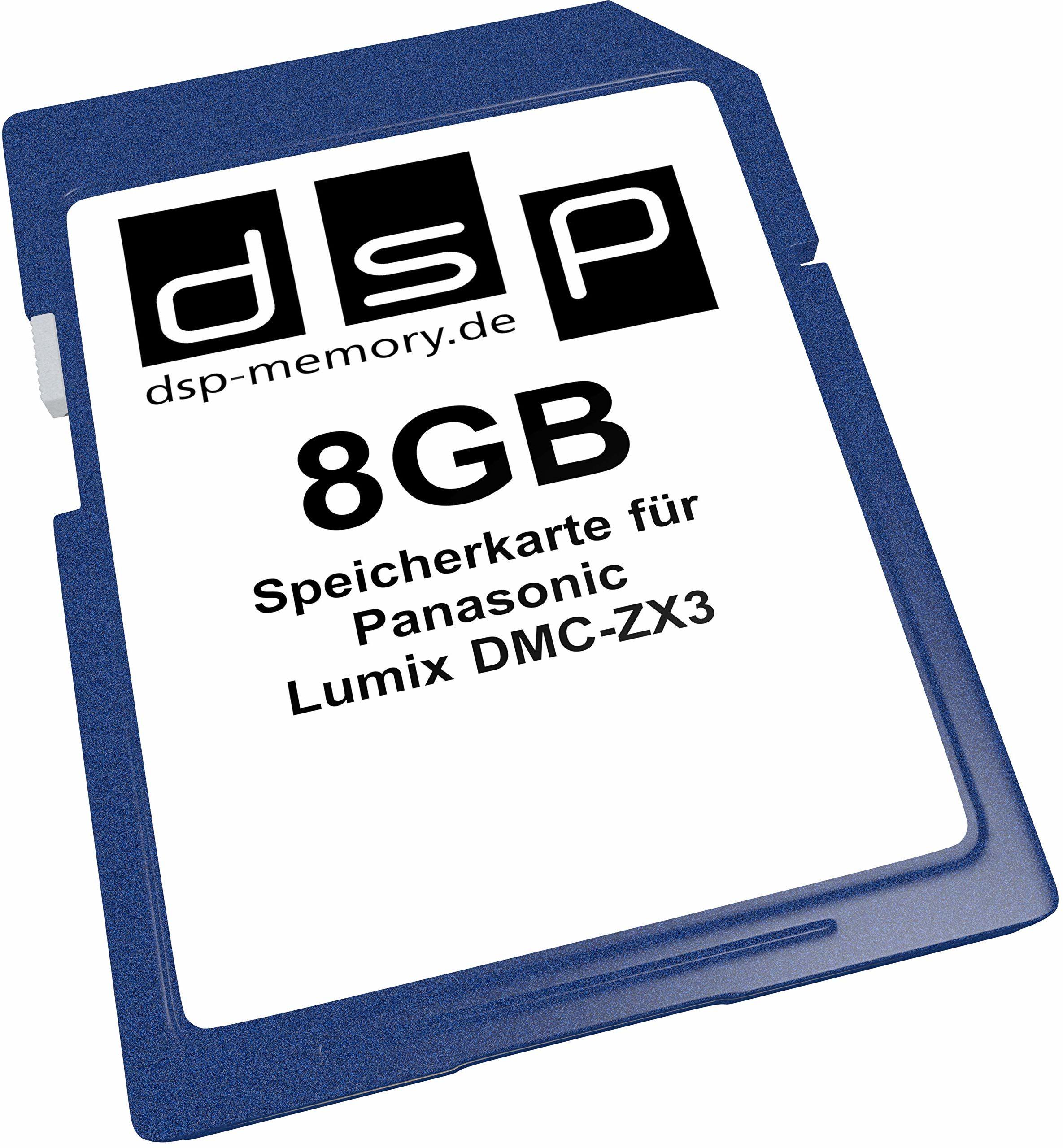 Karta pamięci 8 GB do Panasonic Lumix DMC-ZX3