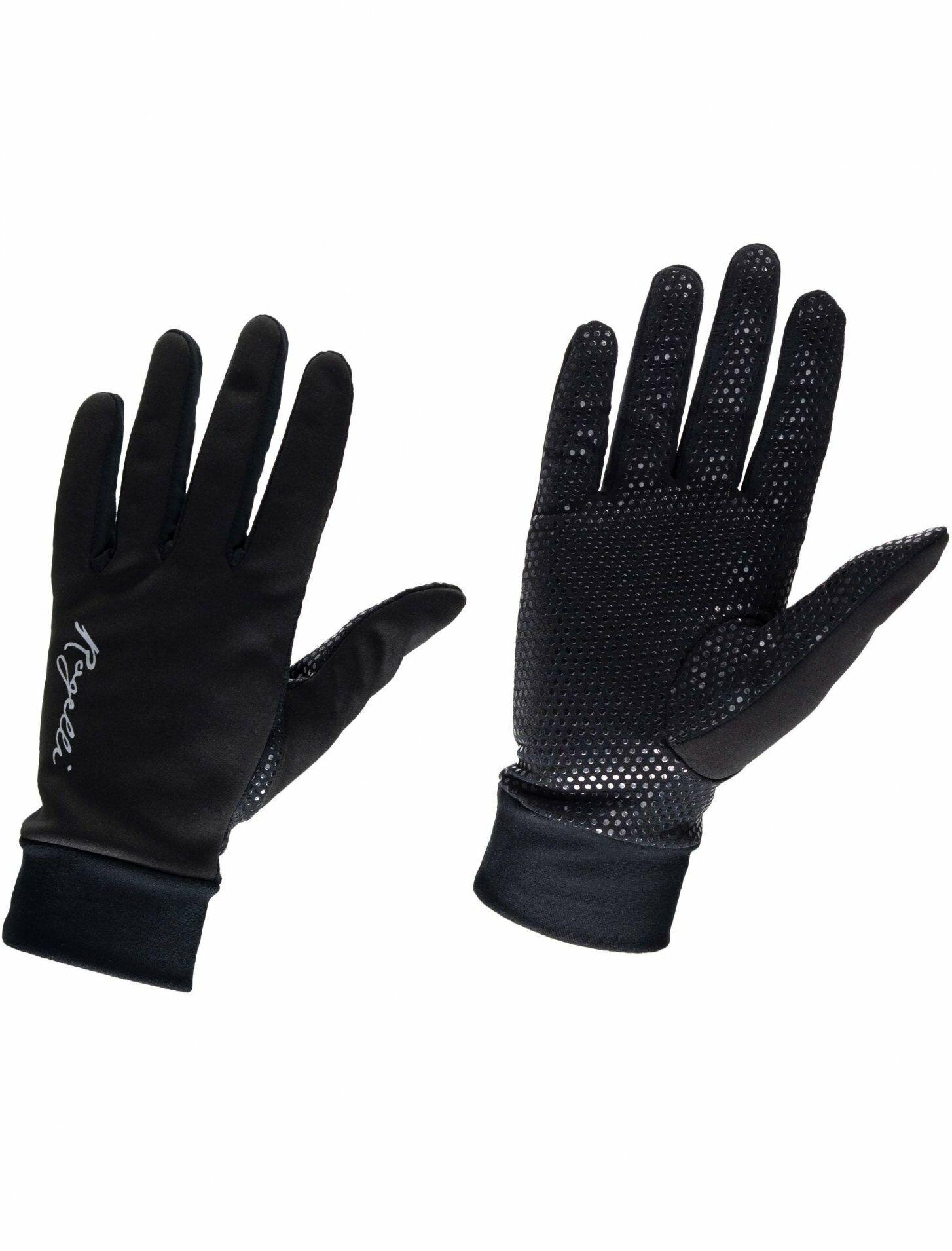 ROGELLI LAVAL Damskie zimowe rękawiczki Czarne 010.661 Rozmiar: L,ROGELLI LAVAL 010.661