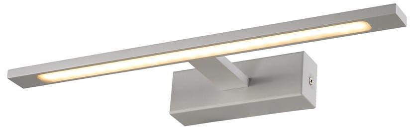 Light Prestige Isla GS-LWB-12W WH kinkiet lampa ścienna metalowa łazienkowy biały LED 12W 4000K IP44 41cm