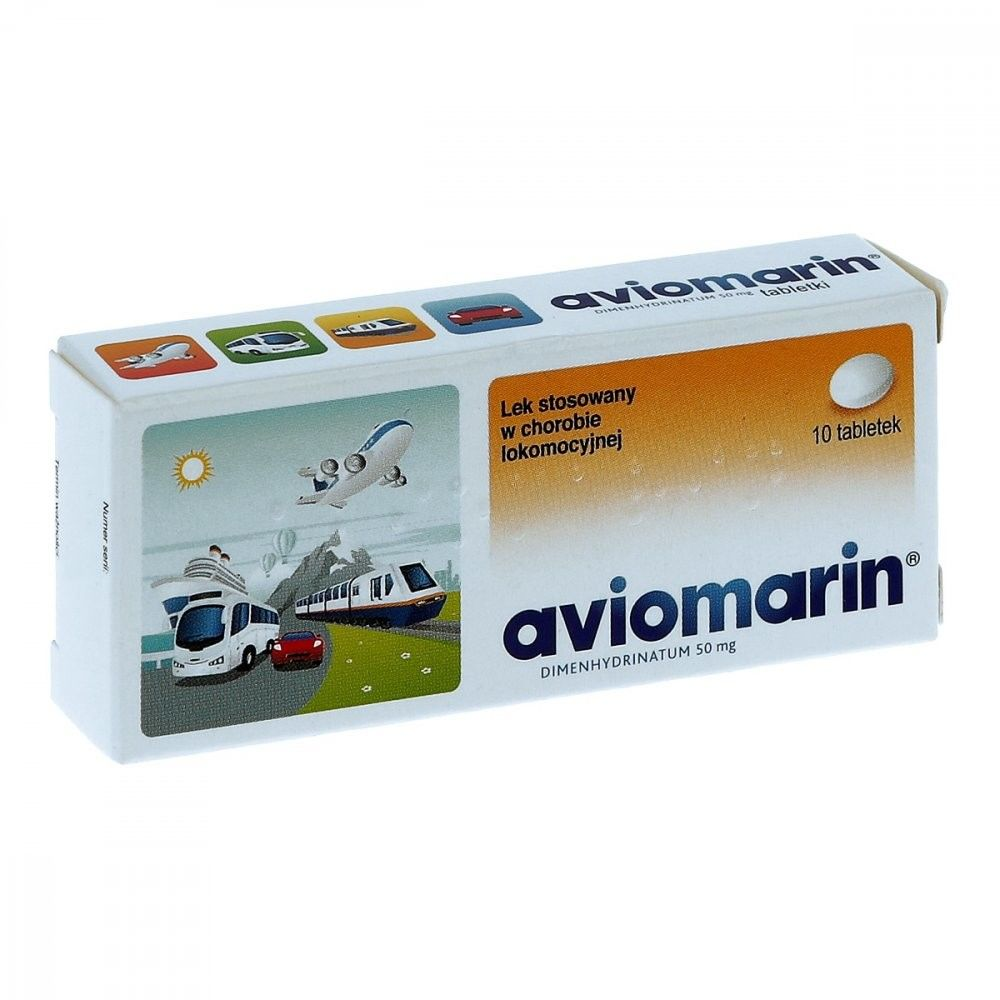 Aviomarin 50 mg tabletki