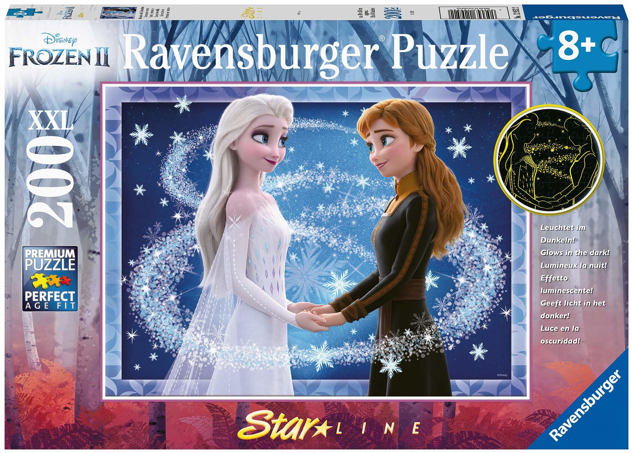 Ravensburger Puzzle 12952 Ravensburger Kraina Lodu 2 200 Elementów Puzzle Dla Dzieci (12952) Unikalne Elementy, Technologia Softclick - Klocki Pasują Idealnie