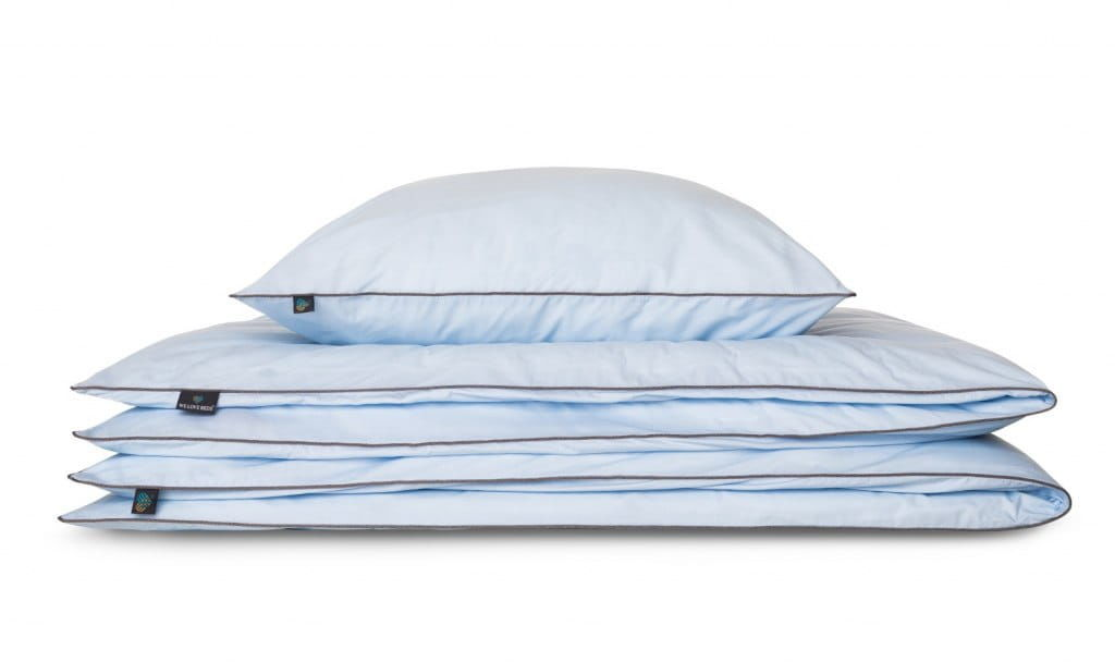 Pościel Perkal 155x200 We Love Beds Azzurro