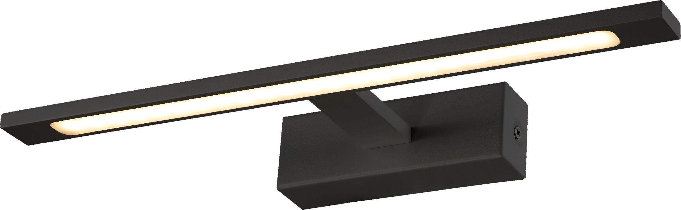 Light Prestige Isla GS-LWB-12W BK kinkiet lampa ścienna metalowa łazienkowy czarny LED 12W 4000K IP44 41cm