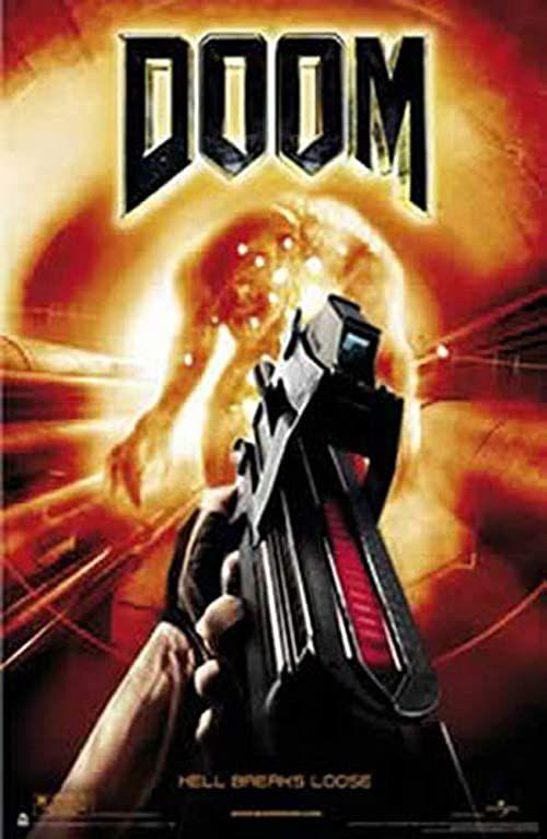 empireposter - Doom - Gun - rozmiar (cm), ok. 56x87 - plakat, NOWY - Opis: - plakat filmowy kino Movie XXL plakat gry -