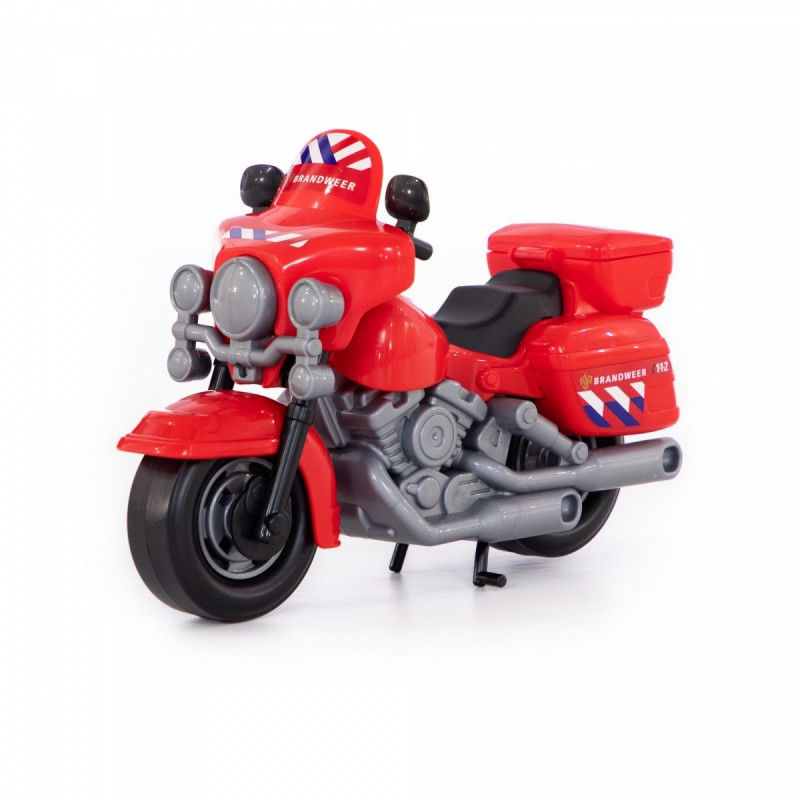 Motor strażacki (NL) w siatce