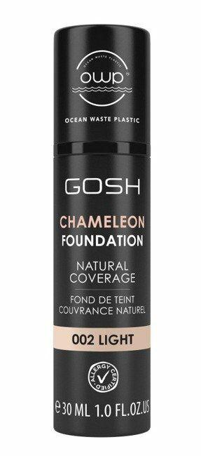 GOSH Chameleon Foundation Podkład adaptujący się do skóry 002 light 30ml