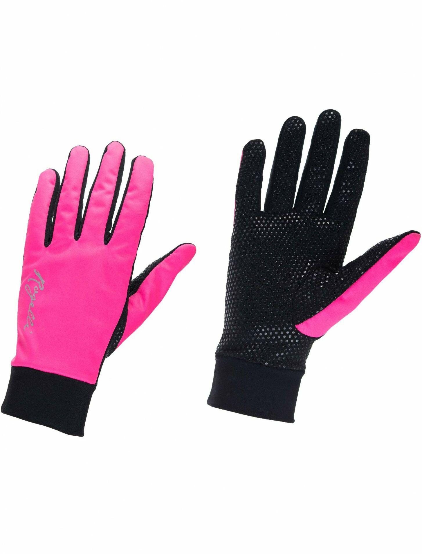 ROGELLI LAVAL Damskie zimowe rękawiczki Różowe 010.662 Rozmiar: S,ROGELLI LAVAL 010.662