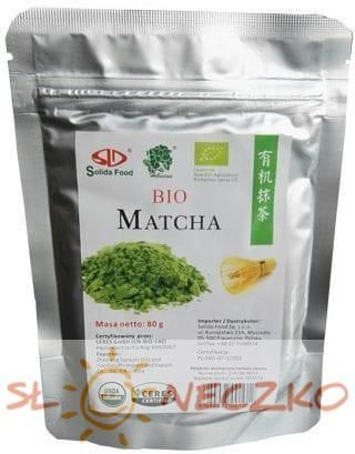 Herbata matcha BIO 80 g Solida Food