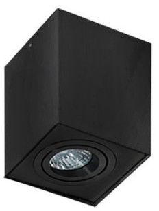 Plafon Eloy AZ2137 AZzardo nowoczesna oprawa w kolorze czarnym