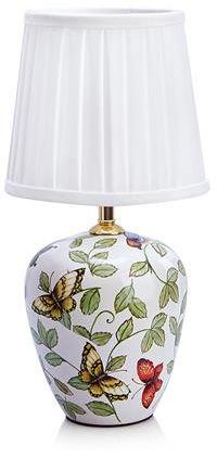 Lampa stołowa Mansion (mała) 107039 Markslojd wzorzysta lampa stołowa z abażurem