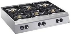 Kuchnia gazowa 6 palnikowa 60000W