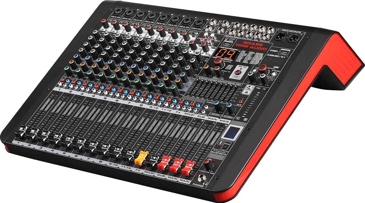 Mikser Brass Tone Audio BTA2112 12K, 2xST 99DSP