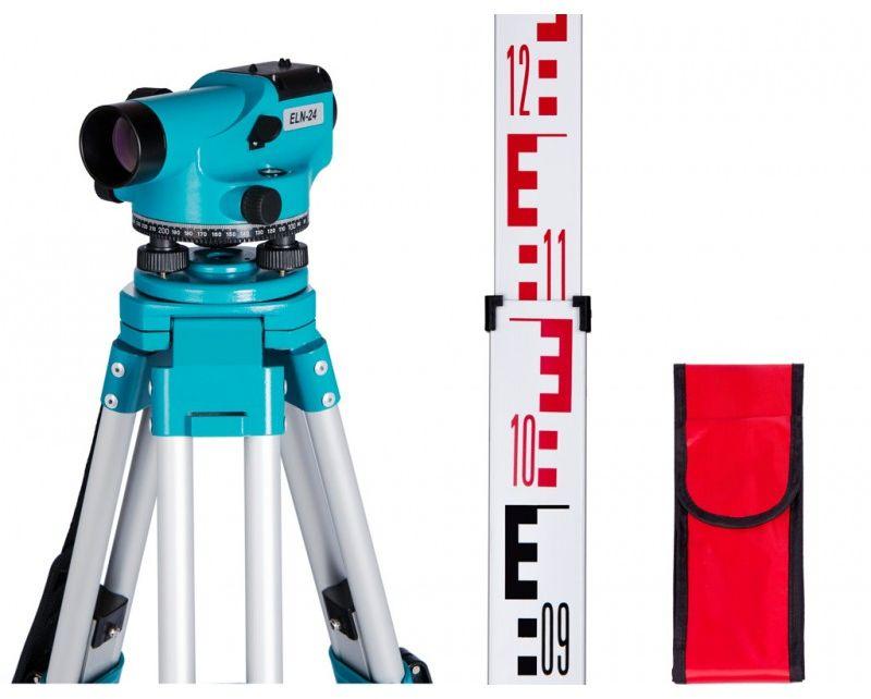 Niwelator optyczny ELN 24 GEO-FENNEL zestaw STATYW + ŁATA