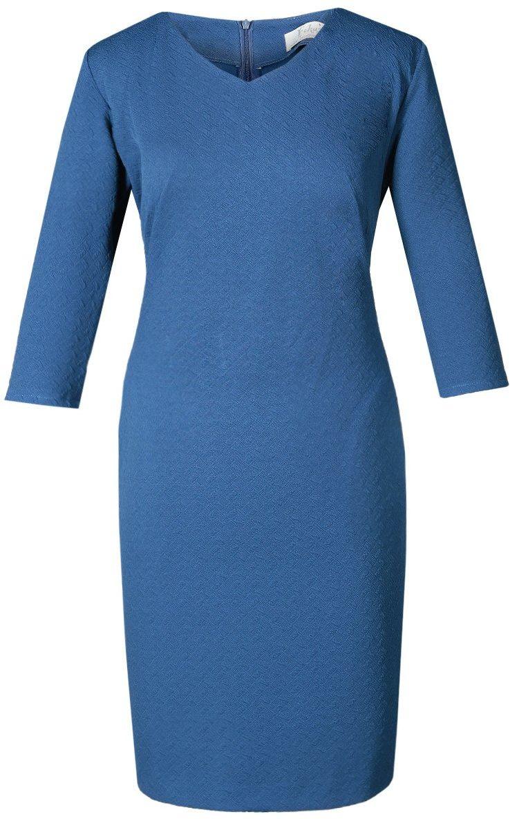 Sukienka FSU752 CHABROWY CIEMNY