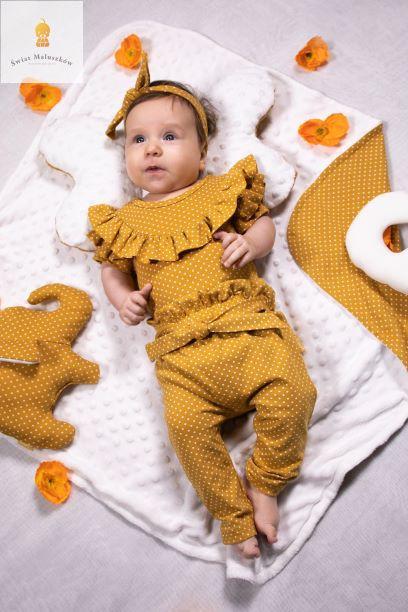 Spodnie Żółto-musztardowe Michalina NICOL