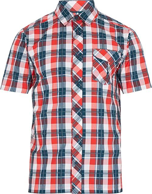 McKINLEY Męska bluzka Astra Ux, Multicolor/Red, S