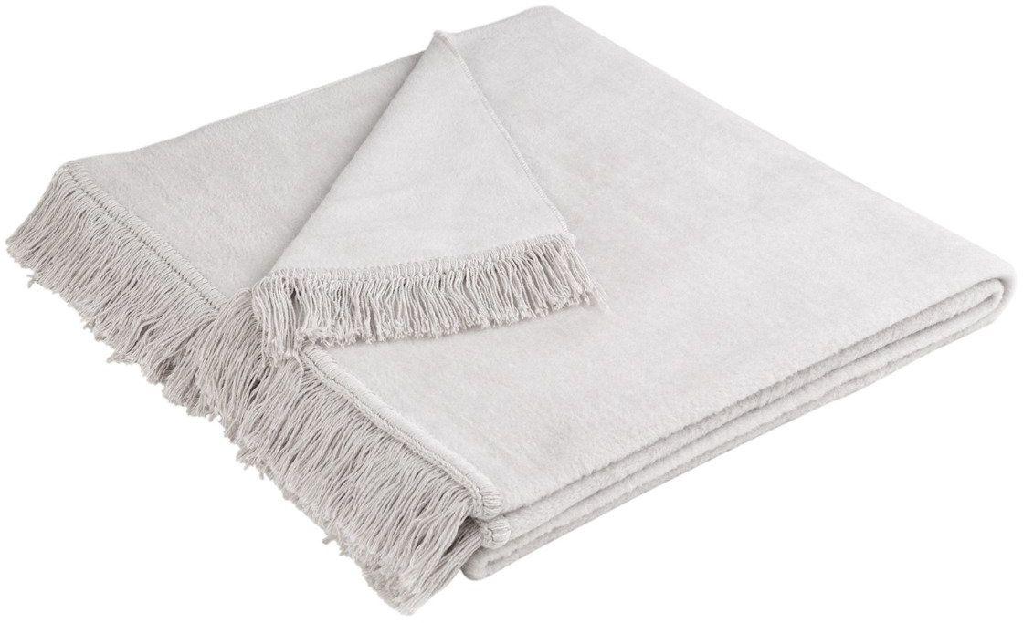Narzuta bawełniana Biederlack Cover Cotton Silber