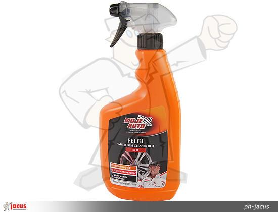 580 Preparat do czyszczenia felg RED Moje Auto krwawa felga 750ml