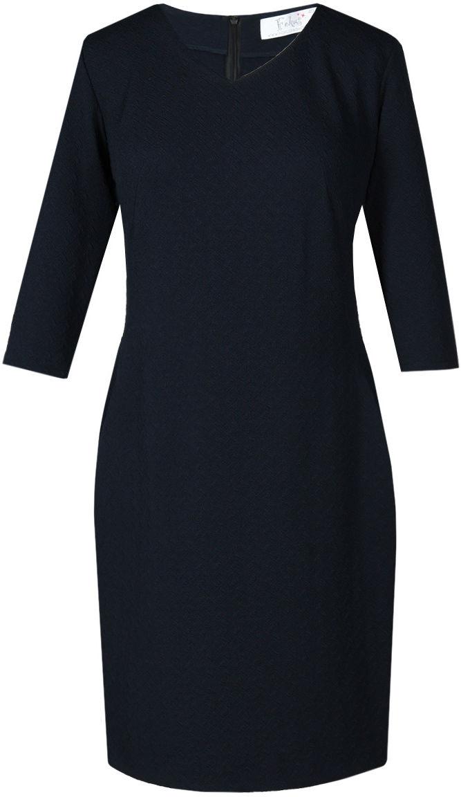 Sukienki Sukienka Suknie FSU752 GRANATOWY