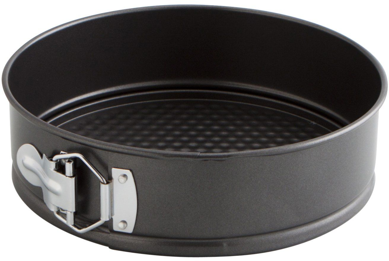 Quid Słodki szary kwadratowy piekarnik w kształcie sprężyny, czarny, 22 cm