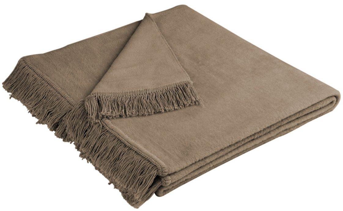 Narzuta bawełniana Biederlack Cover Cotton Haselnuss