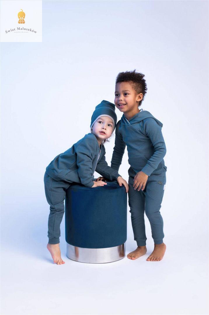 Spodnie dresowe typu baggy dla chłopca Delfin NICOL r.56-122