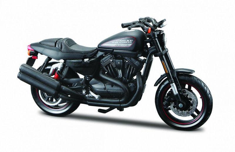 Motocykl HD 2011 XR1200X 1/18 Czarny