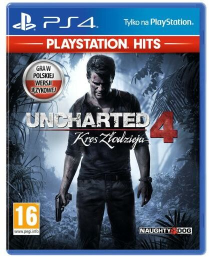 Uncharted 4: Kres Złodzieja - PlayStation Hits PS4 / PS5