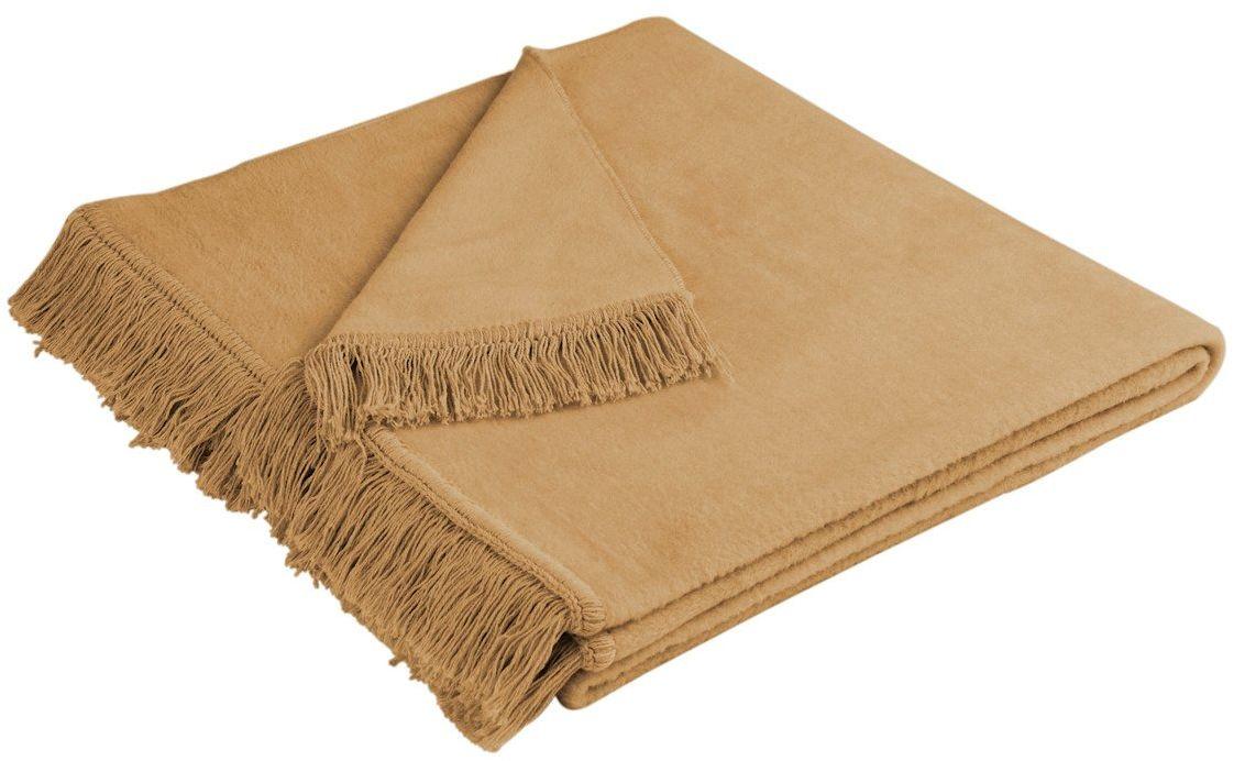Narzuta bawełniana Biederlack Cover Cotton Kamel