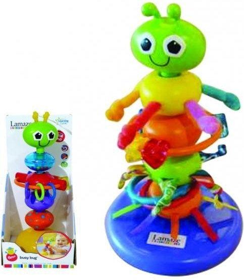 Zabawki Lamaze Kolorowy robaczek 27224