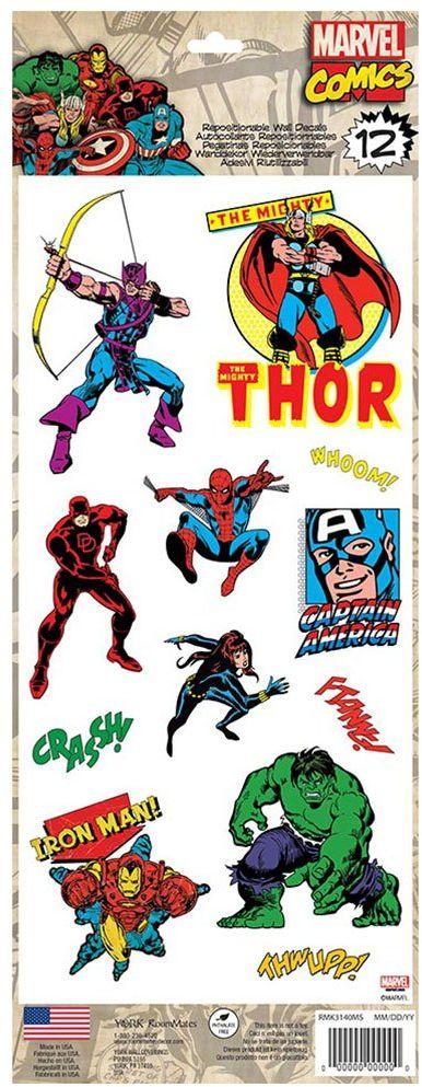 Marvel Comics Classic RoomMates naklejka ścienna (12)