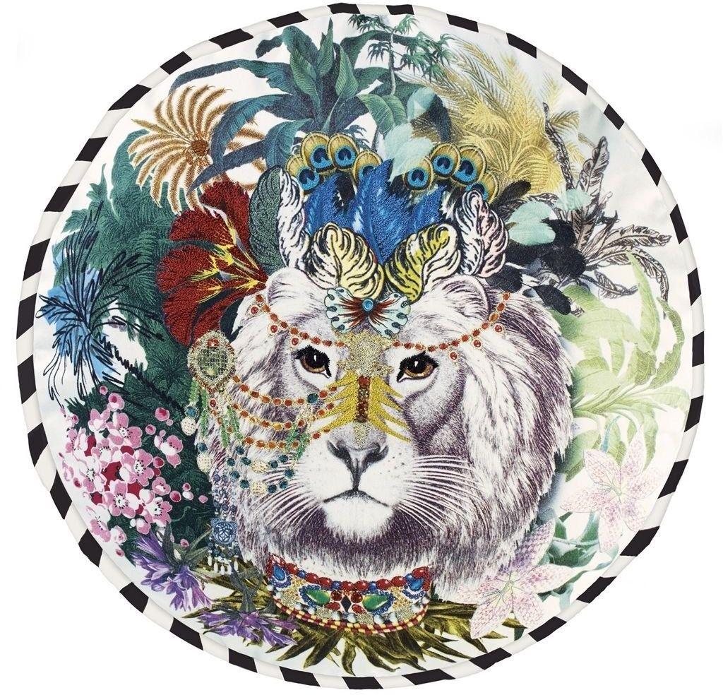 Poduszka dekoracyjna Christian Lacroix Jungle King Opiat