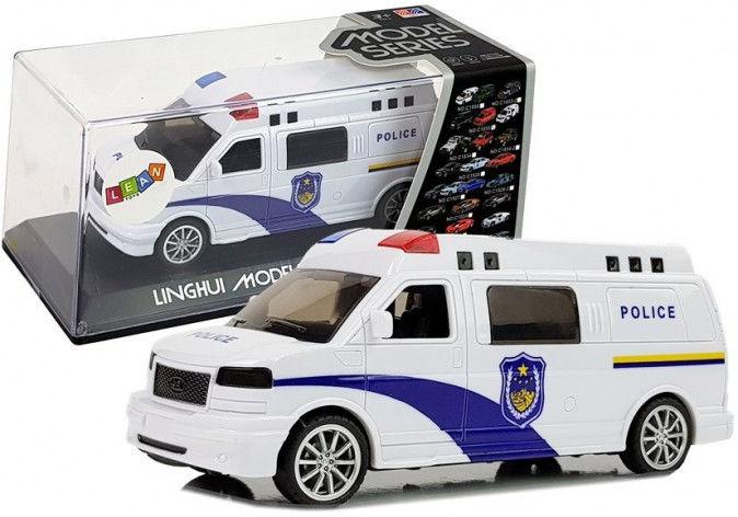 Auto Ambulans z Naciągiem ze światłami i dźwiękiem