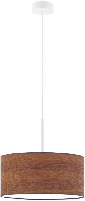 Skandynawski żyrandol z abażurem 30 cm - EX867-Sintrox - wybór kolorów