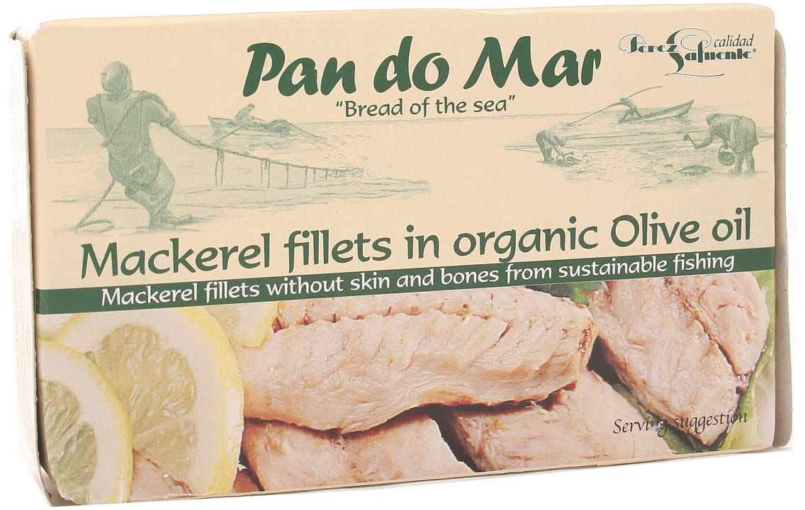 Makrela w BIO oliwie z oliwek - Pan do Mar - 120g